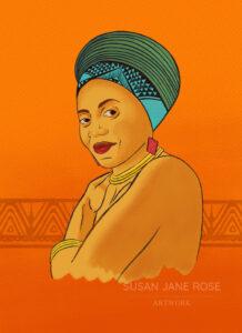 Miriam Makeba by SJR